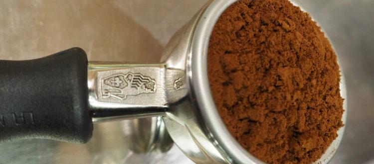 La macinazione dell'espresso